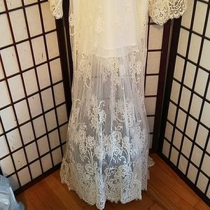 Jen's Pirate Booty Dresses - Jen's Pirate Booty Ethereal Lace Maxi Bridal Gown